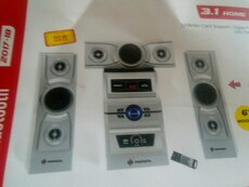 silver stereo component set box