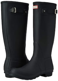 Hunter Boots Women's Original Tall Classic Rain Boot Calgary