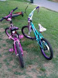 toddler's two pink and green bicycles Burlington, 27217