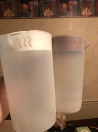 frosted plastic pitcher Hull, 30646