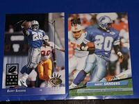 HOF Barry Sanders 4 Card Lot  Lutz, 33558