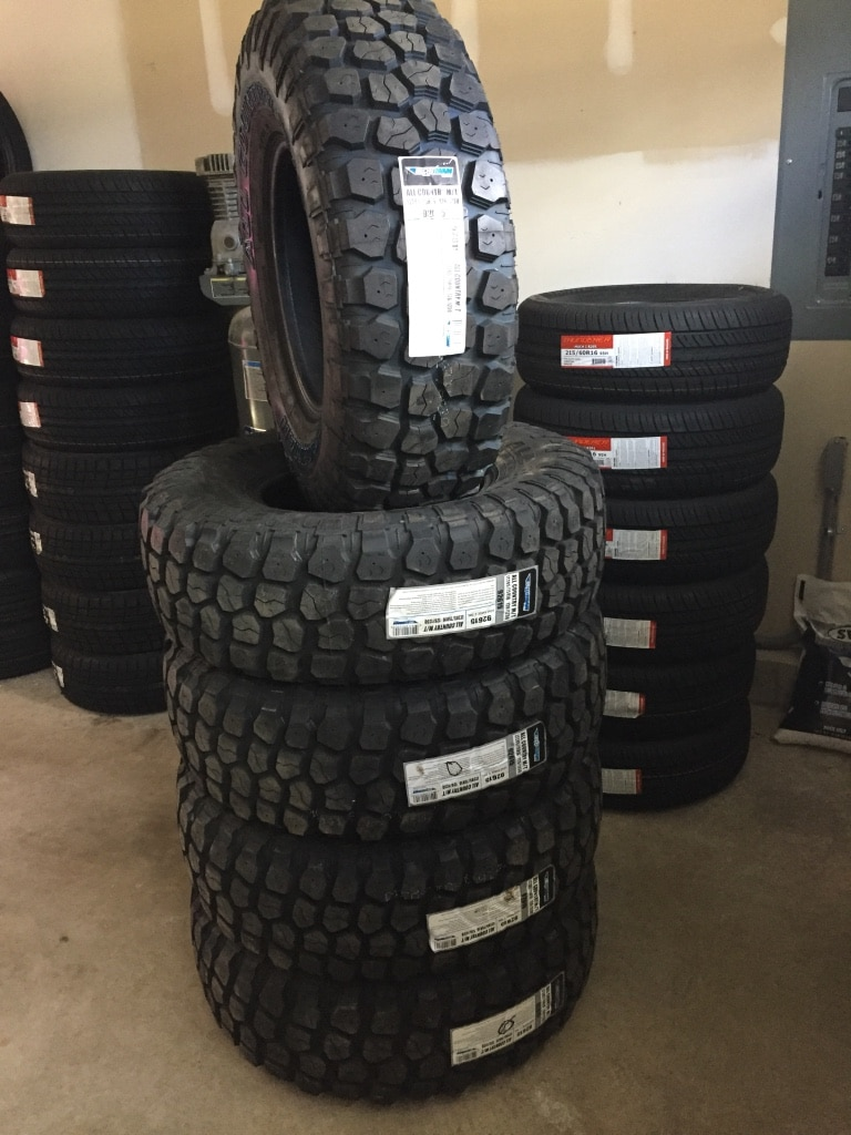 Used Tires: January 2017