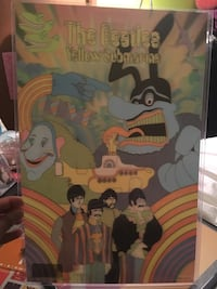 3D Yellow Submarine poster. Also have a John Lennon poster available! negotiable Ridgewood, 07450