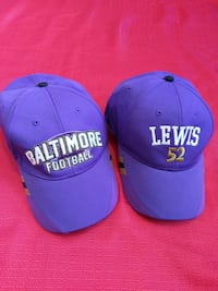 Baltimore football and ray Lewis hat  Berkeley Springs, 25411