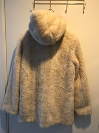 Faux-fur from Topshop, size 36