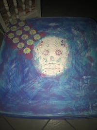 Sugar skull shabby chic wood table  Cape Coral, 33990