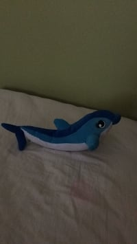 Blue Dolphin Plush Washington, 20024