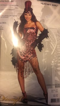 Halloween costume. Flapper or showgirl Anchorage, 99508