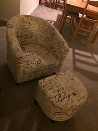 Accent Chair and Ottoman $50 Mount Airy, 21771