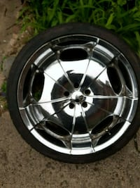 22  inch rims and tires 90% tread com off my Buick Hammond