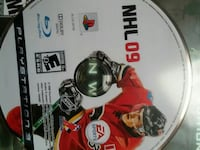PS3 NHL 09 game