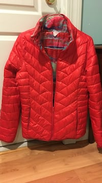 Reversible women's puffy jacket Centreville, 20120
