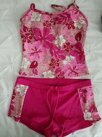 Pink floral swimsuit  Calgary, T3N 0E4