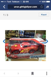 lightning mcqueen talking car