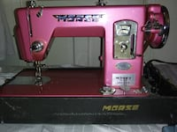 RARE VINTAGE TOYOTA MORSE PINK SEWING MACHINE