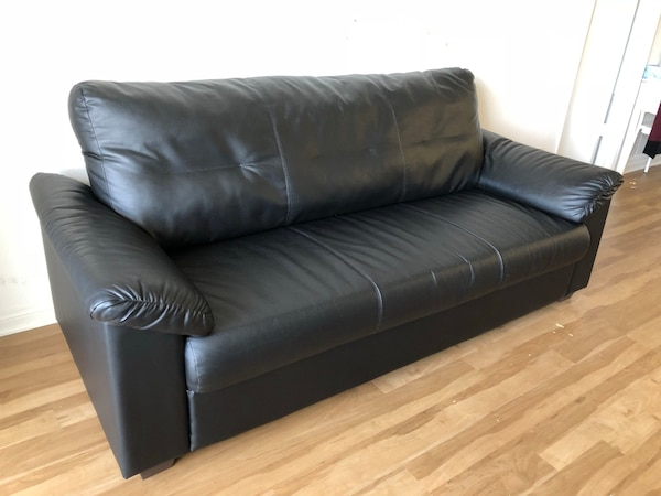 Used Ikea Knislinge Sofa Indhult Black Available Until This Weekend Only For In San Go