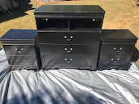2 Nightstands 3 Drawer Chest $90 OBO Kings Mountain, 28086