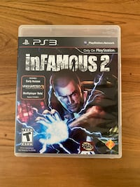 inFAMOUS 2 PS3 Video Game Attleboro, 02703