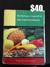 Nutrition: Concepts and Controversies  Melbourne