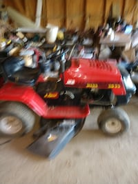 Lawn tractors have 3 two pictured