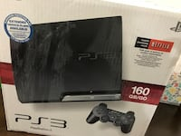 Ps3 160 gb with 2 games Pompano Beach, 33069