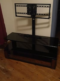 black glass TV stand with mount Cedar Valley, L0G 1E0