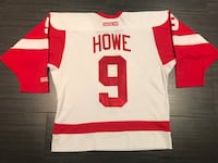 CCM Gordie Howe Detroit Red Wings Hockey Jersey  544 km