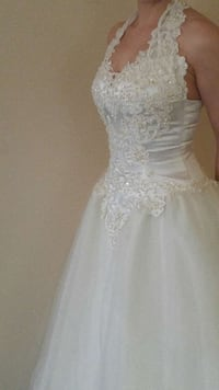 Size 2/4 Wedding Dress Atlantic Beach