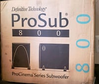 Definitive Tech Pro Subwoofer