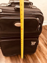 American Tourist black carry on luggage Vaughan, L0J 1C0
