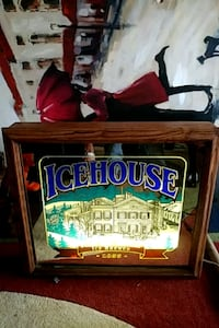 ICEHOUSE LIGHTED REFLECTIVE GLASS DISPLAY Sparta, 38583