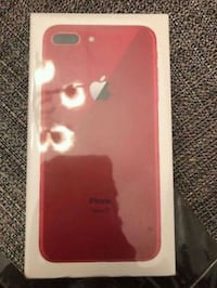 PRODUCT RED iPhone 8 Plus box