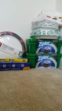 New paper plates bowls foil wrap containers bundle Rockville