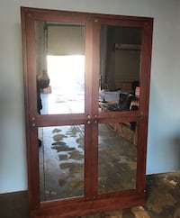 Mirrored Armoire  -excellent condition