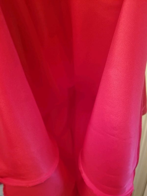 Red Long Bora USA Rhinestone Dress size Small/CH 3b24a592-6502-41a3-9bf9-41471622467e