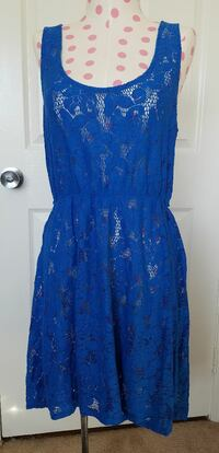 Women's large blue lace dress San Diego, 92124