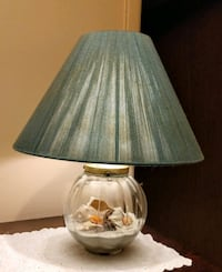 Seahells & Sand in a Globe Lamp Manchester Township, 08759