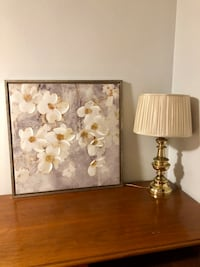 two white and brown table lamps New Orleans, 70119