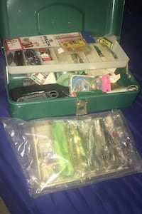 Fishing kit! Hooks, bait, etc.