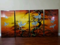 Imported pictures Wood panels Lacquer Garden Grove, 92840