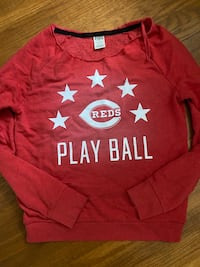 Victorias secret PINK Cincinati Reds pullover - medium