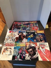 Lot of 11 X-men and Wolverine comic books $9 for all Manassas, 20112