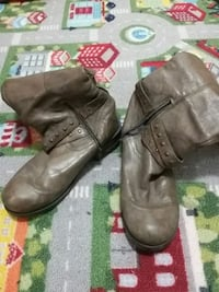100% Real Leather Womens Boots Size 6.5 St. Catharines, L2R 5L7