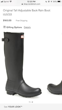 Hunter boots tall size 9  Chicago, 60626