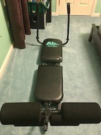 Made in USA Nordic Track Ab Works Abdominal Exerciser Reston, 20194