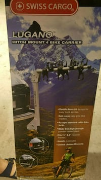 Hitch mount 4bike carrier open box Alexandria, 22312