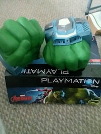 Playmation hulk fist hands toy buttons Germantown, 20876