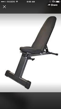 Dumbbell weight lifting bench fold up  501 km