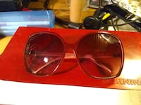 Pair of Sunglasses Raspberry Red Frame Color  Vancouver, V6B