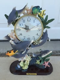 Clock art by poly collection